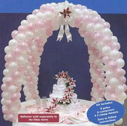 Wedding Cake Table Decoration, Wedding Arch Decoration