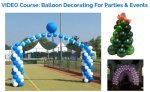 Balloon centerpiece wedding centerpiece ideas for Balloon decoration course