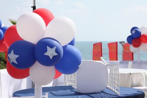 4th of July Balloon Balls