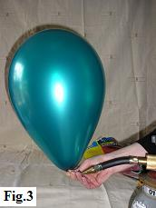 How to inflate a balloon with helium