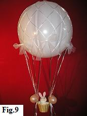 Hot air balloon model build your own part ii for Balloon decoration guide