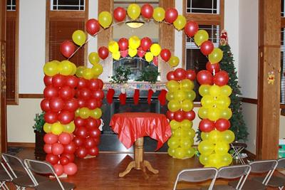 Balloon decorations faq page balloon decoration guide for Balloon decoration guide
