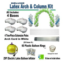 Deluxe Latex Balloon Arch and Column Kit