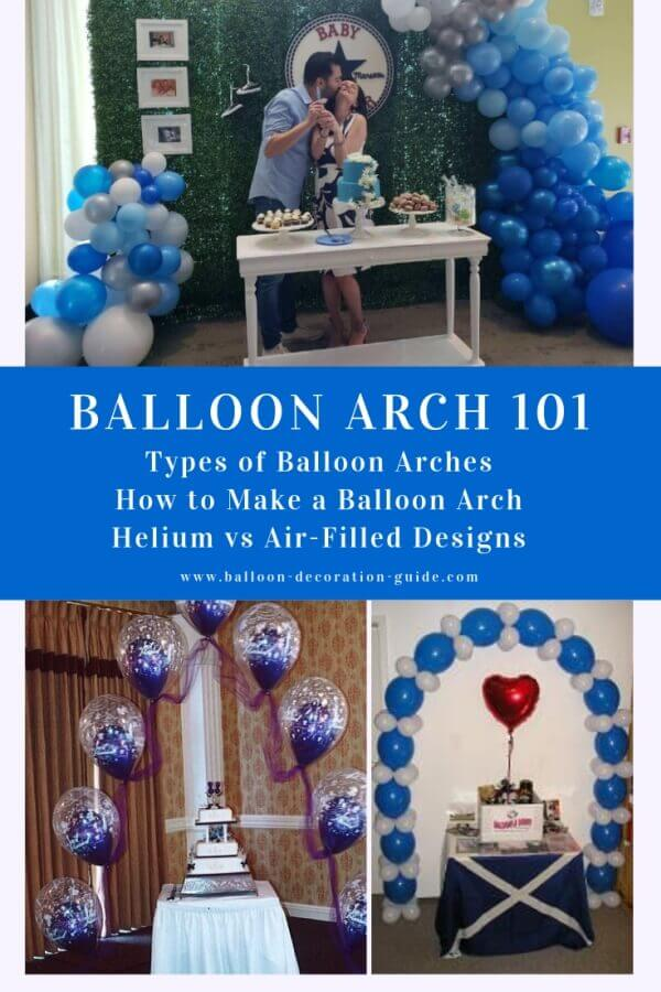 Balloon Arch 101: Types, Helium vs Air-Filled, How To Make One