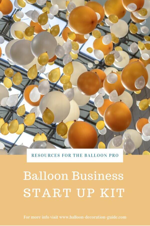 Balloon business start up kit