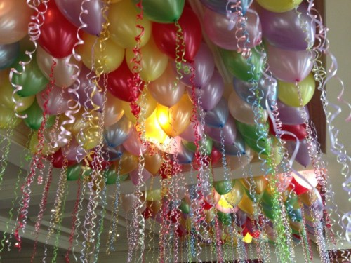 Gotta Love Those Balloon Ceilings!