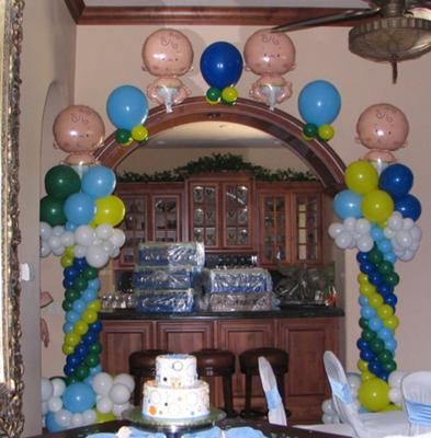 Balloon classics decor entertainment for Balloon decoration guide