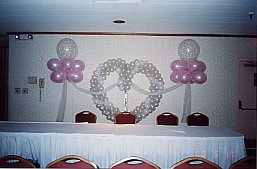 Example design from Balloon Decor Secrets ebook