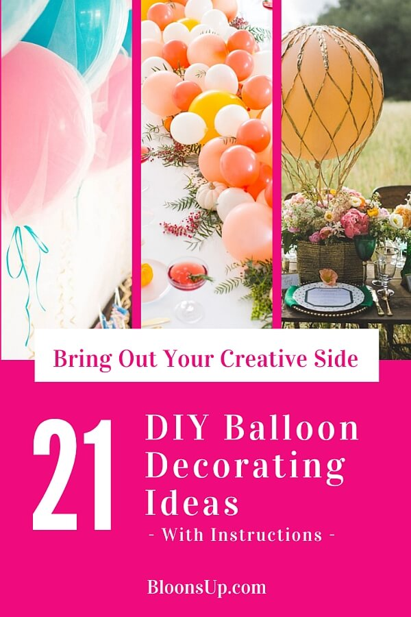 21 Dazzling Diy Balloon Decorating Ideas To Impress Your Guests