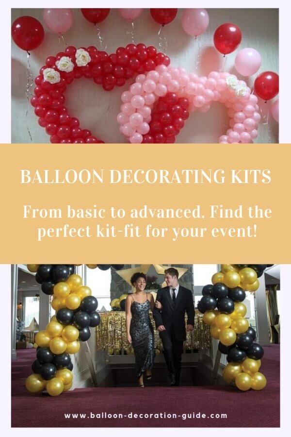 Balloon decorating kits examples and recommendations
