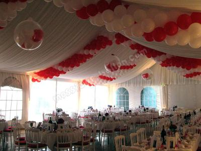 Example of a Balloon Garland [Image credit: www.mossieur-ballon.com]