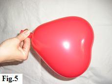Marabou Balloon Heart - Fig. 5