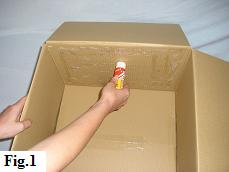How to Make a Balloon in a Box, Step 1