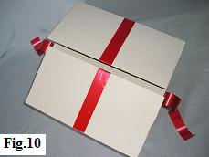 Self-made Box for a Balloon in a Box Gift