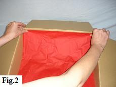 How to Make a Balloon in a Box, Step 2