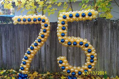 Large Balloon Numbers with Base [Image Source: dekorasi-balon.blogspot.com]