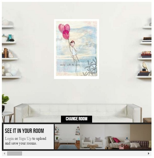 Balloon Picture Print Preview at Art.com