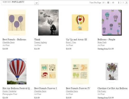 Balloon Picture Prints at Art.com