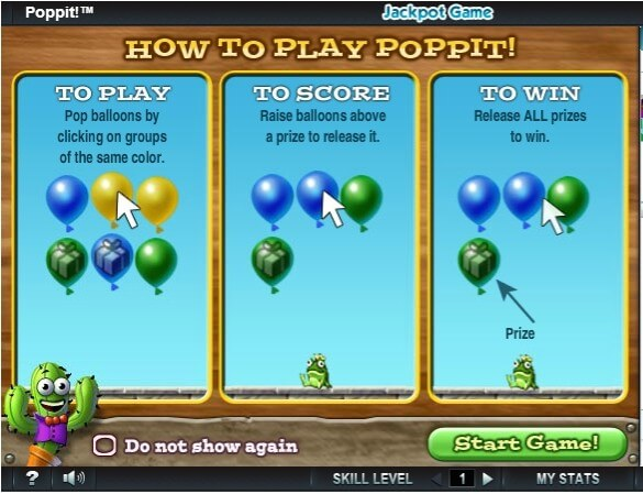 the balloon popping game poppit simple yet engaging