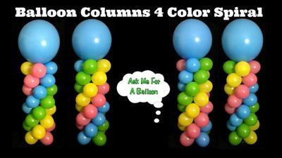 Spiral Balloon Column [Image Source: