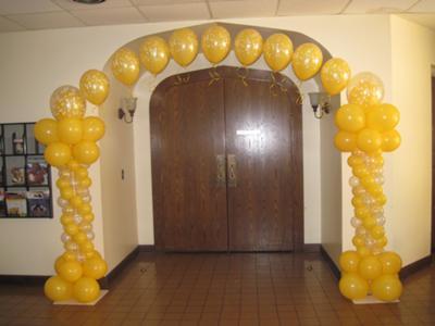 Balloon Columns & Arch