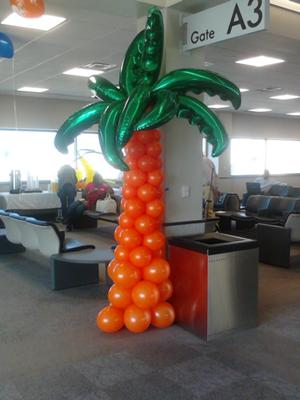 Balloon Deco for Grand Opening Vision Airline ( B R Airport )