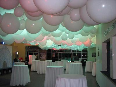 Best Way To Hang Balloons From A Vaulted Ceiling