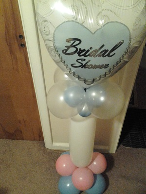Bridal Shower Balloon Decor