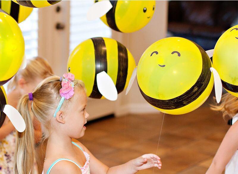 bumble bee balloons