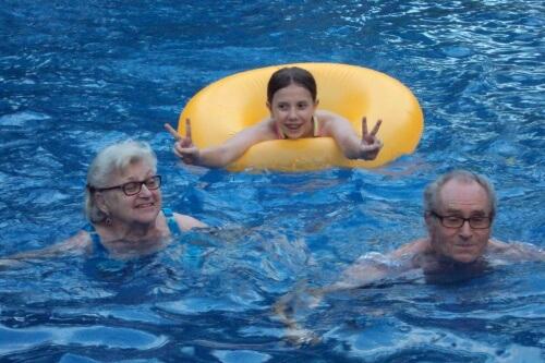 Fun in the Pool, Managua, Nicaragua