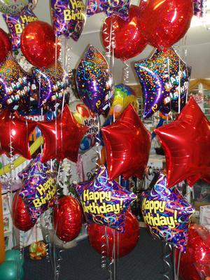 Heaven Scent Balloons And Flowers