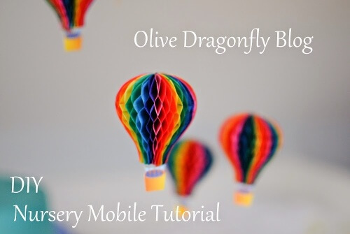 Hot Air Balloon Mobile Tutorial
