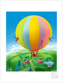 Hot Air Balloon - Humpty Dumpty (Art.com)