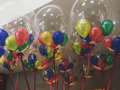 How do the small balloons get into the large ones? [Image source: balloonsforyou.ie]