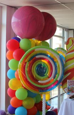 How to do balloon decorations party favors ideas for Balloon decoration how to make