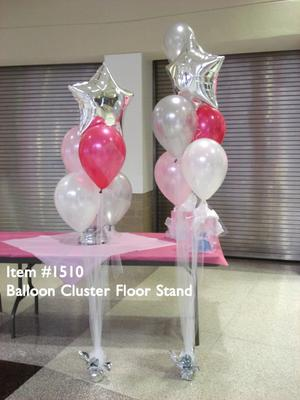 Photo 1: Balloon Cluster as Head Table Decoration [Image Source: upwithballoons.com]