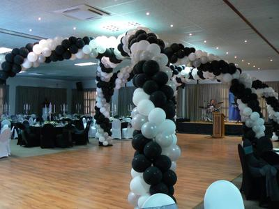 Balloon Canopy For Dance Floor