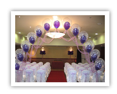 London indian party balloons for Balloon decoration courses in london