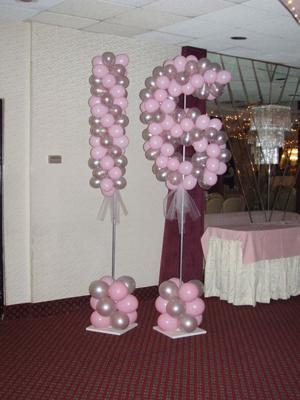 Balloon Column with Number 16 [Image source: cdn.homesthetics.net]