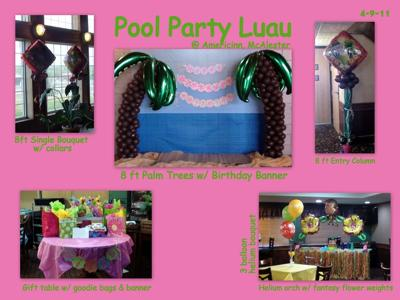 Luau Pool Party
