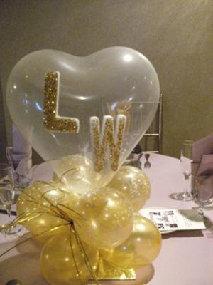 Wedding Balloon Centerpiece