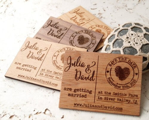 4 Unusual Save The Date Ideas