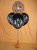 Spooky Halloween Balloon Bouquet