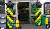 Balloon Columns as Store Decoration
