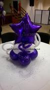 Balloon Centerpiece for an Anniversary