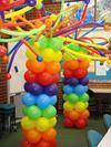 Balloon Columns [Image Source: www.thepartyeveryday.com]