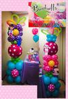 Flower Balloon Column
