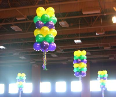 1000 images about what a great party on pinterest for Balloon decoration guide