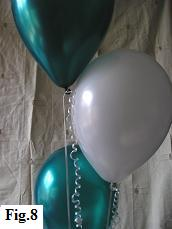 How to make a balloon bouquet, step 8