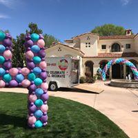 Outdoors balloon decor